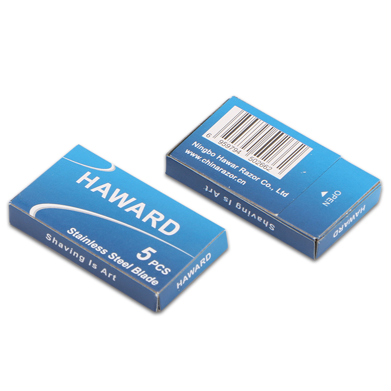 HAWARD 10/30/50 Pcs Classic Safety Razor Blade Straight Razor Double Edge Safety Razor Blade 1