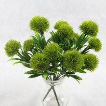 1 букет 7 голов 5 см Одуванчик с цветами, для украшения дома 3 цвета PE искусственные цветы из пены для свадьбы День Святого Валентина Декор