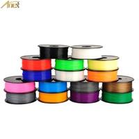 12 Colors ABS 1Kg Plastic Rod Rubber Ribbon Consumables Material Refills For MakerBot RepRap UP Mendel