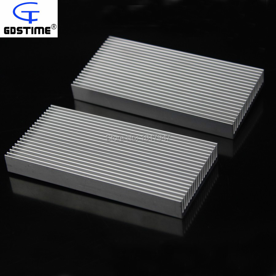 100PCS lot Gdstime 100mm x 48mm x 11mm Electronics Computer equipment IC Chipes Aluminum Heatsink