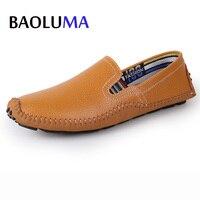 Big Size 38 47 Slip On Casual Men Loafers Spring Autumn Designer Shoes Men Luxury Moccasins