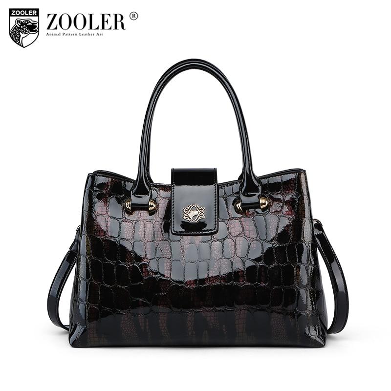 High quality HOT ZOOLER brand women bag genuine leather large bag Fashion Travel lady shoulder bags pattern Messenger Bag c127 все цены