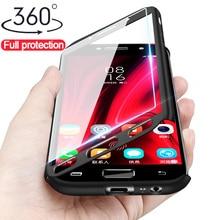 Прочный армированный чехол для телефона 360 Защитный чехол для samsung Galaxy A7 A6 A8 плюс J4 J6 чехол для samsung J5 J7 J3 J2 J7 рrime