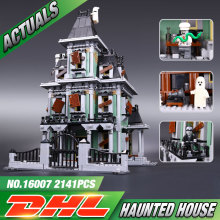 New LEPIN 16007 2141Pcs Monster fighter The haunted house Model set Building Kits Model Minifigure Compatible With Legeod  10228