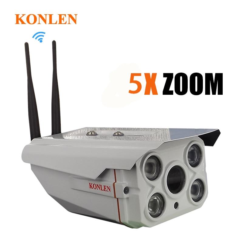 Starlight Zoom óptico de Audio al aire libre cámara IP WIFI de la tarjeta SD de 2MP 1080P Full HD Sony IMX323 IP66 impermeable IR IP Cam-in Cámaras de vigilancia from Seguridad y protección on AliExpress - 11.11_Double 11_Singles' Day 1