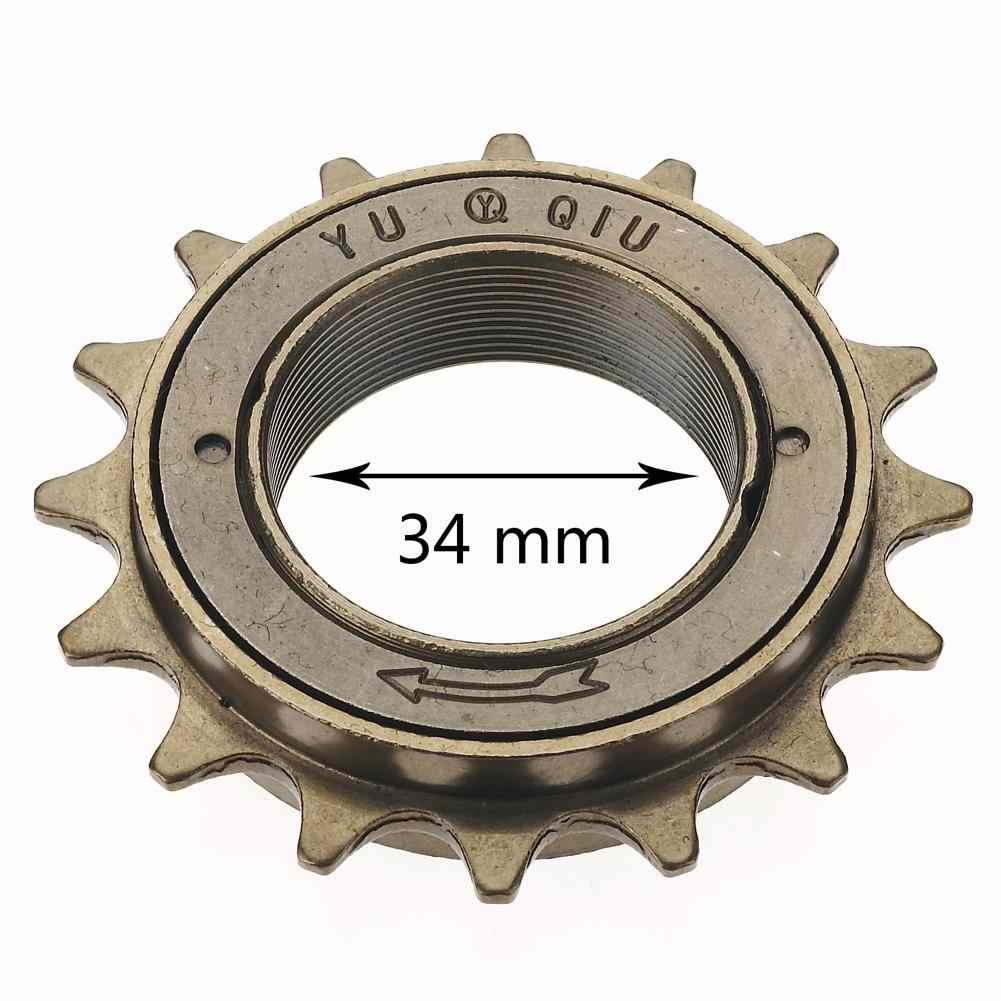 1pc BMX Bike Bicycle Race 16T Tooth Single Speed Freewheel Sprocket Part gear XS