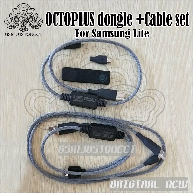 100% Original New Octoplus Dongle Actived For Samsung Lite  +2 Cables +For I9000 Download JIG Adapter