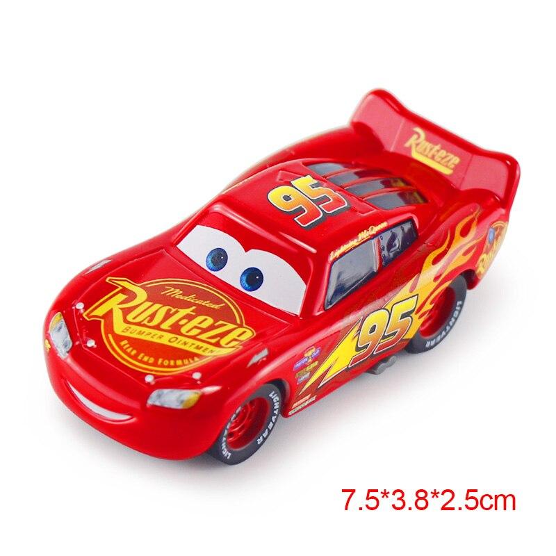 Дисней Pixar Тачки 2 3 Молния Маккуин матер Джексон шторм Рамирез 1:55 литье под давлением автомобиль металлический сплав мальчик малыш игрушки Рождественский подарок - Цвет: McQueen 3.0