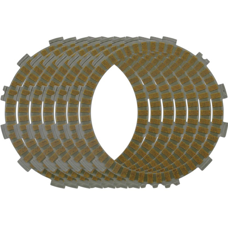 Motorcycle Engines Clutch Friction Plates Kit For KAWASAKI <font><b>KX125</b></font> K1 94 KX 125 K2 K3 95-96 New Motorbike image