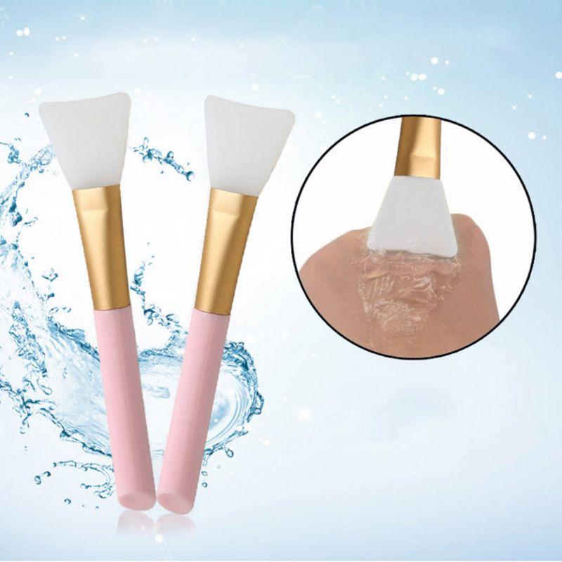 2Pcs Professional Makeup Silicone Brush Facial Mask Mud Mixing Face Skin Care Tools