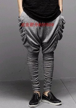 27-42  Men's casual Resist the baggy pants harem pants Flying squirrel trousers plus size singers costumes