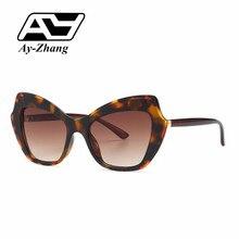 Gafas de sol de la vendimia de Ay-Xiamen todo-juego gafas de sol de diseño de carácter Individual de moda marco completo gafas de sol para las mujeres