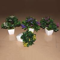 Bottle Flowers Office Mini Garden Green Simulation Simulation Plant DIY Desktop Simulation Potted Flowers Quality