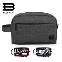 BAGSMART Unisex Travel Toiletry Bag Waterproof Toiletry Kit Potable Dopp Kit Large Capacity Cosmetice Bags For