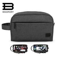 BAGSMART Unisex Travel Toiletry Bag Waterproof Toiletry Kit Potable Dopp Kit Large Capacity Cosmetice Bags For