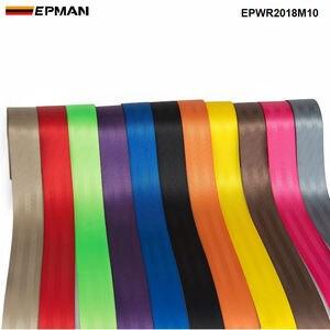 Image 3 - EPMAN Clip Universal para cinturón de seguridad, hebillas de sujeción, botones de parada para Peugeot Focus VW Audi BMW EPWR2018M10