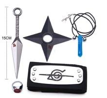 Naruto Kunai Cosplay Items 5PCS/Lot Naruto Weapon Set