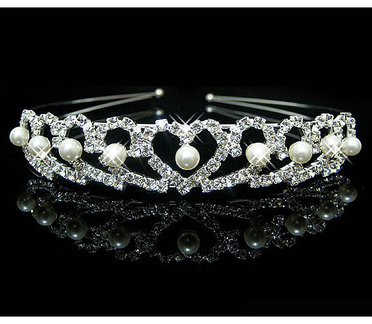HTB1lGYKPXXXXXb0aXXXq6xXFXXXM Brilliant Gem and Pearl Encrusted Wedding Bridal Bridesmaids Headband Tiara Crown - 11 Styles