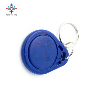 100PCS RFID Sensor Proximity IC Key Tags Keyfobs Token NFC TAG Keychain 13.56MHz For Arduino for Access Control Attendance