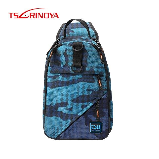 TSURINOYA Angeln Tasche Multifunktionale Wasserdichte Outdoor 750D Nylon 32*21*9cm Angeln Getriebe Rucksack Mochila De Pesca sac Peche
