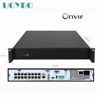36ch ONVIF Super HD 4 К NVR DVR H.265 видеомагнитофон для 4 К/5mp/4mp/3 м /2mp IP камера 2/16ch POE 48 В системы видеонаблюдения