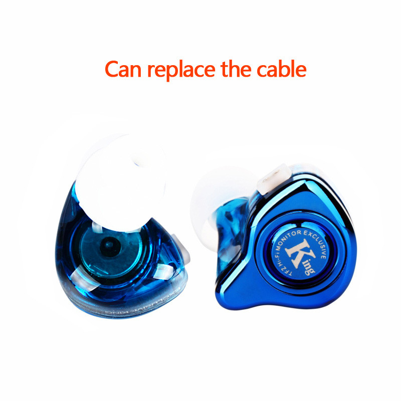 The Fragrant Zither TFZ EXCLUSIVE KING In-ear Earphone Monitor Bass Earbuds HIFI Sports Headset Customized Dynamic DJ Earphone hot men women gift enmex brief steel band creative geometric designs floating pointer 3d dail with young fashion quartz watches