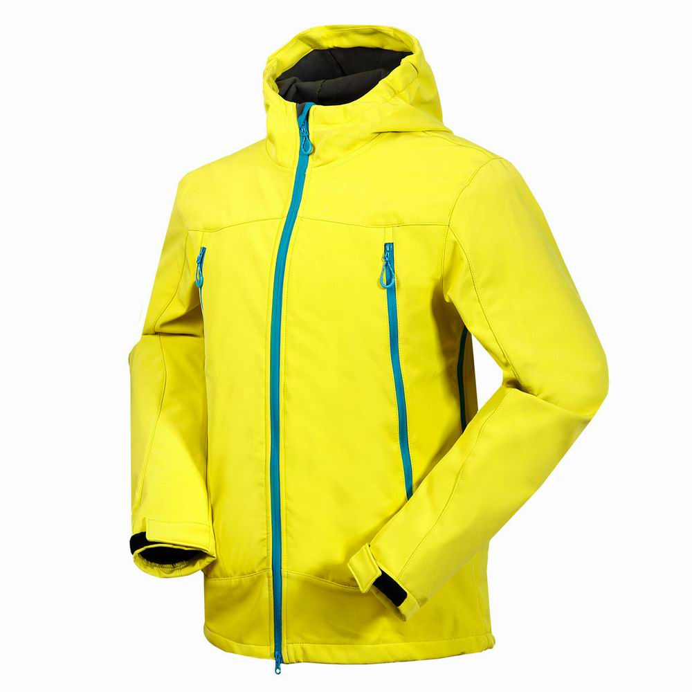 2019 Men Hiking Jacket Softshell Fleece Clothing Windproof Breathable Water Repellent Outdoor Sport Wear Riding Climbing Camping