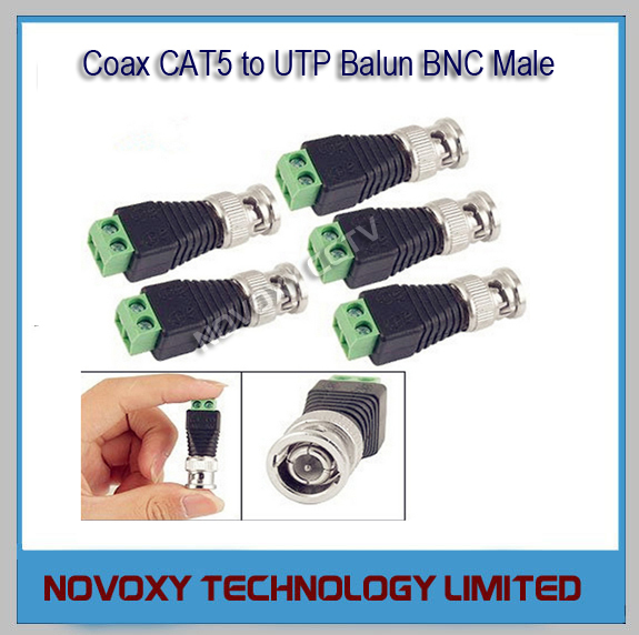 Coaxial To Cat 5 : Online buy wholesale coax cat converter from china