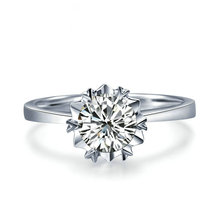 18K Gold 0.30ct Solitaire Diamond Ring for Women Natural Diamond Handmade Jewelry Wedding Band Engagement Jewellery