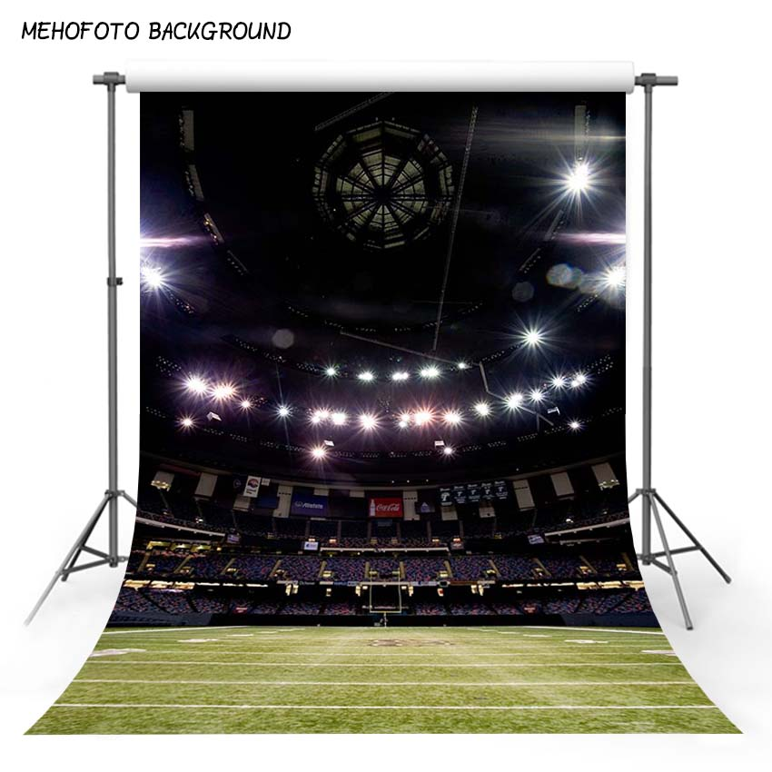 MEHOFOTO 5x7FT Seamless Children Photography Backdrops Soccer Field Photo Background Props Photo Studio CM-2414 retro background christmas photo props photography screen backdrops for children vinyl 7x5ft or 5x3ft christmas033