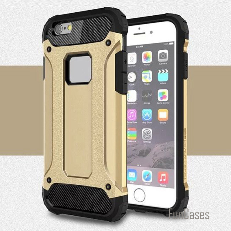 i5 ip5 hybrid plastic + silicone dual layer armor case fundas for iphone 5s 5 se cases shockproof hard tough rubber covers coque