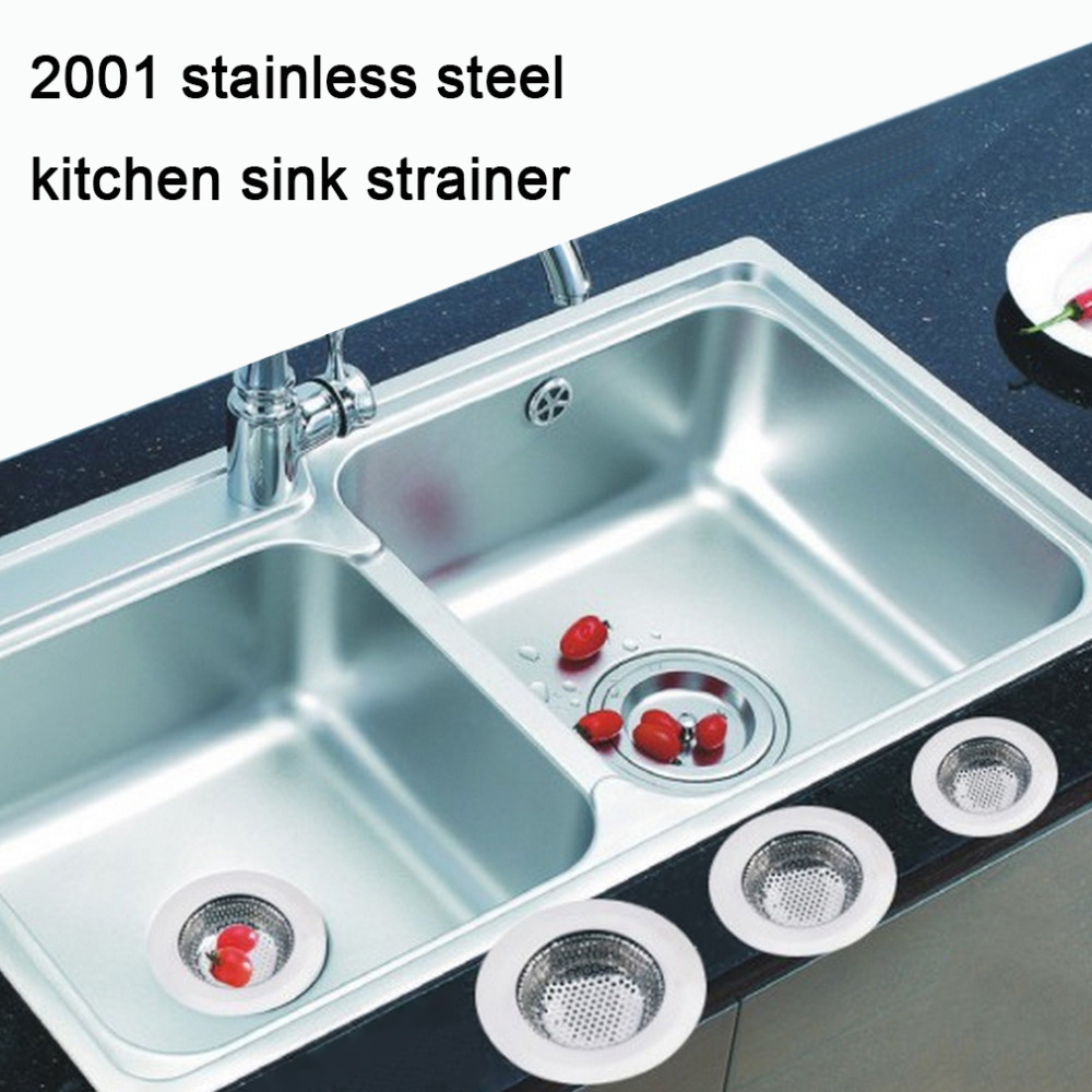 3 Size Simple Design Home Kitchen Stainless Steel Sink Filter Sewer ...