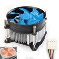 Computador desktop pc cpu dissipador cooler fan núcleo de cobre de 4 pinos para lga 1150 lga1155 lga1156