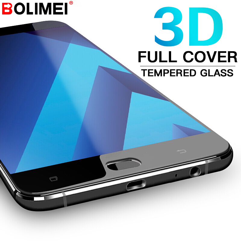 Galleria fotografica 9H Full Cover Tempered Glass For Samsung Galaxy S7 S6 A3 A5 A7 2016 2017 Screen Protector J3 J5 J7 2016 Protective Glass