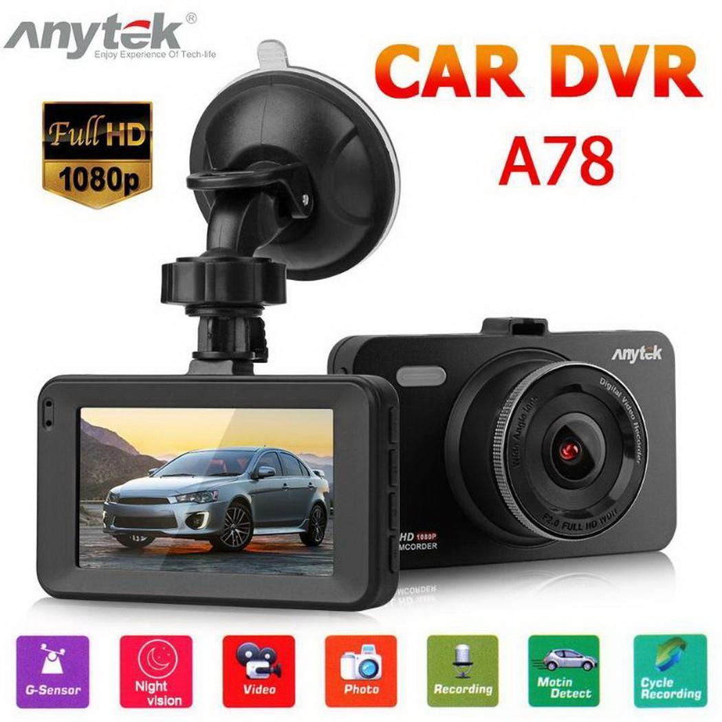 Video-Recorder Camera Driving Car-Dvr Dash-Cam Cycle G-Sensor Auto 1080P Hd-Screen Motion-Detection