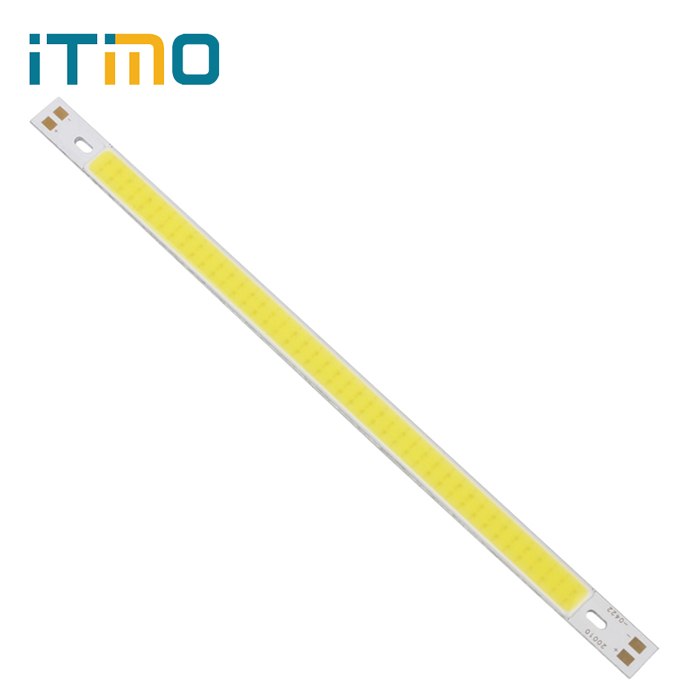 200 x 10MM COB LED Strip Lights for DIY High Quality 12V 10W 1000LM Super Bright Replacement Lamps Warm White / Pure White 120mmx36mm warm white pure white cob led strip lamp lights bulb 10w 1000lm super bright 12v 24v for diy high quality