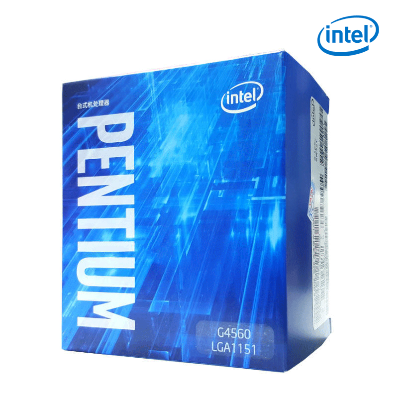 Intel pentium G4560 Dual Core 3.5GHz LGA 1151 14nm Desktop CPU l3 3MB Cache 610 HD VGA Desktop Processor TDP 54W