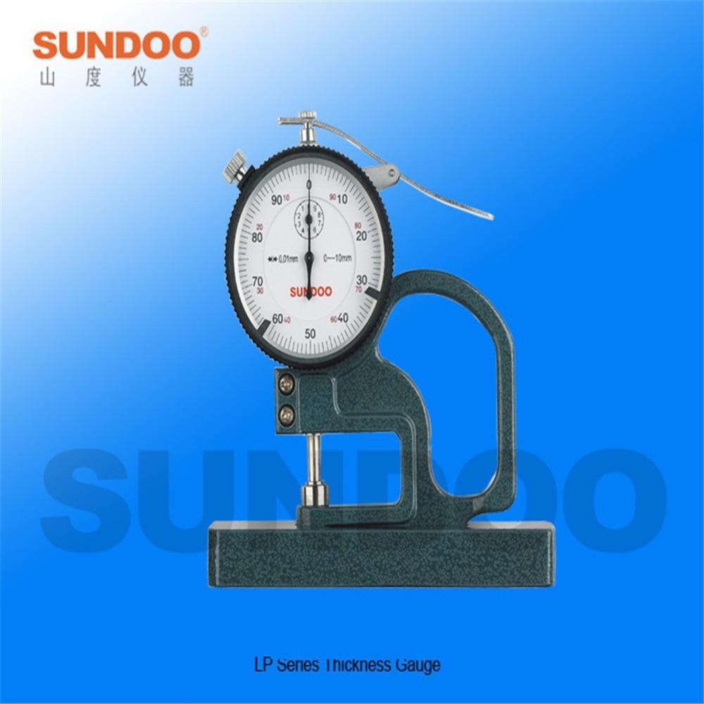 ФОТО LP-5710 Sundoo Pointer Percent Thickness Gauge Meter