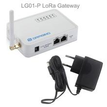 Cho Dragino LG01 P Wifi Lora Cửa Ngõ 433 MHz/868 MHz/915Mhz Dài Khoảng Cách Không Dây, mã Nguồn Mở Openwrt Lora IOT + Nguồn Điện
