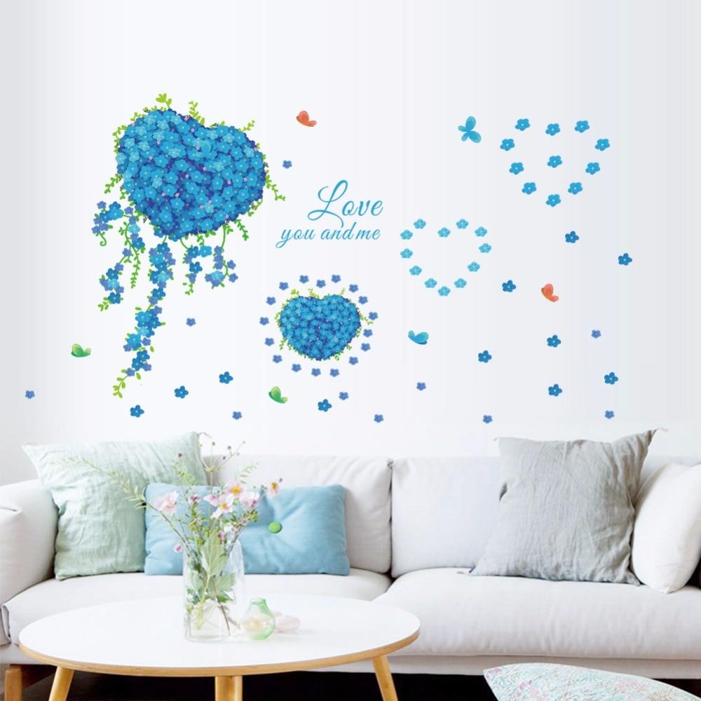 led integrierte wand decken beleuchtung blau lila. romantisches schlafzimmer design schne blaue ...