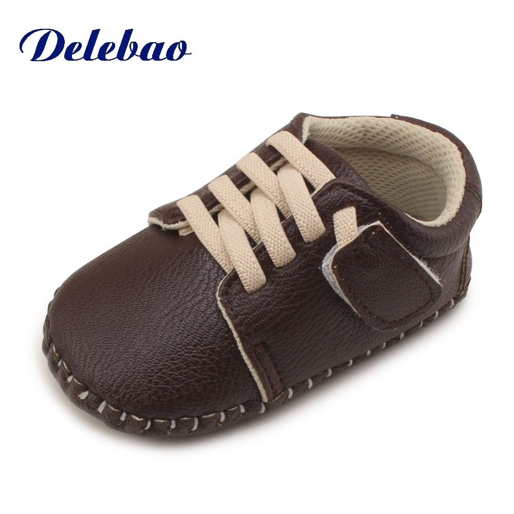 La nueva moda Shallow Patchwork goma zapatos de bebé para 0-2 años - Zapatos de bebé