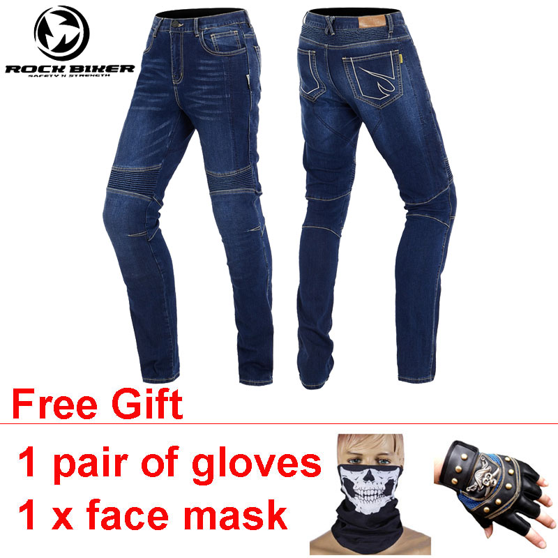 ROCKBIKER Wearable Motocycle Jeans Men Slim Moto Pants Homme Motorrad Hosen Motorbroek Met Protectie Pantalon Para Motocicleta italian vintage designer men jeans classical simple distressed jeans pants slim fit ripped jeans homme famous brand jeans men