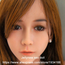 sex mannequins head,real doll silicone sex dolls love doll,oral depth 13 cm,Fit body height:153,156,158,161,163,168cm