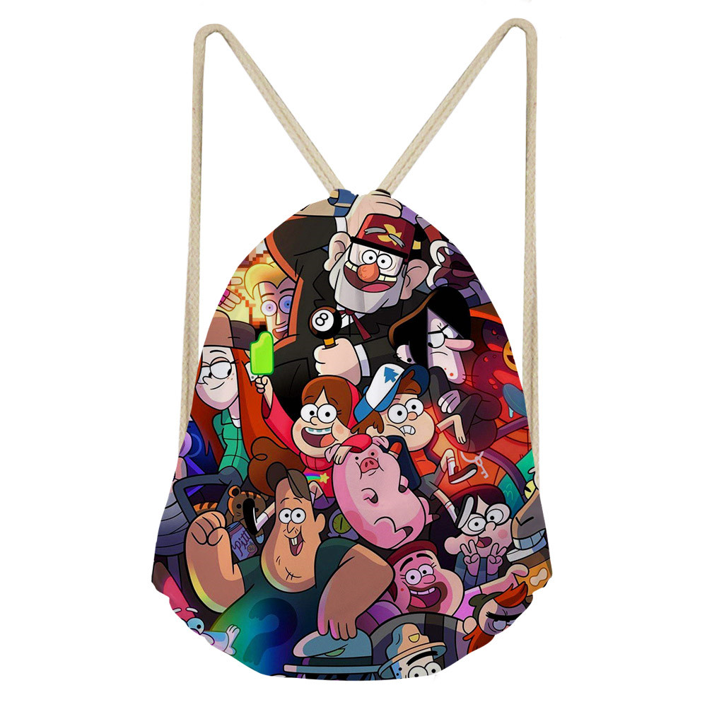 Thikin Children Mini Bag Violin Notes Pattern Fashion Mini Pu Leather Shoulder Bag Girls Kids Small Backpacks Casual Mochila Luggage & Bags
