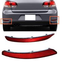 For Volkswagen Golf 6 (MK6) For GTI GTD 2010 2013 2014 Rear Fog Lights Tail Foglamp Assembly Car Parts no bulb Reflector 2pcs