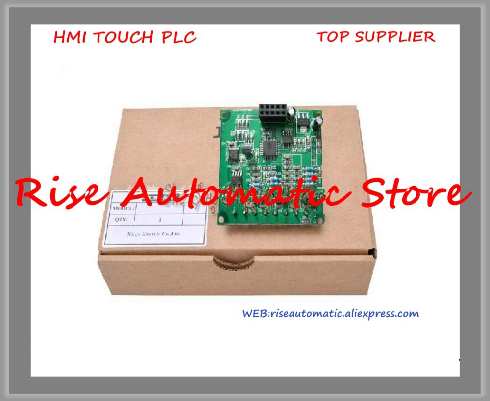New Original Programmable Controller Module input 4 channels 0-10V/0~5V AI 14 Bit XP-4AD-BD