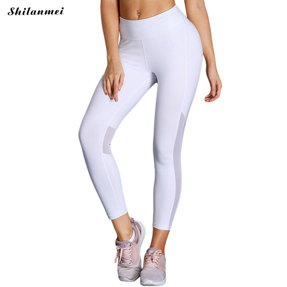 Women Leisure Nine Point Pants High Waist Yoga Fitness