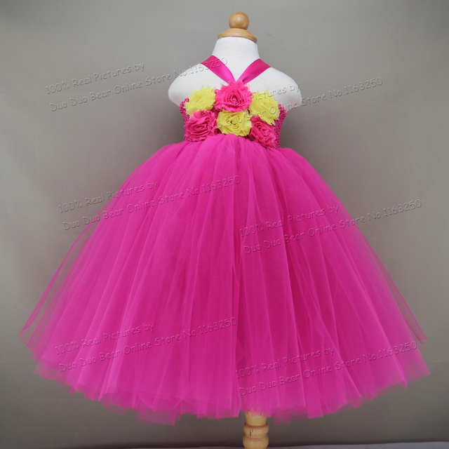Baby Party Dresses Summer 2016 Infant Princess Tutu 1 Year Girl ...