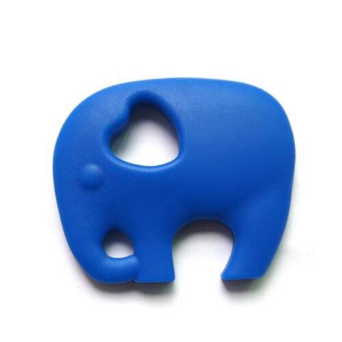 Прищепка для соски цепь силиконовый держатель пустышка Прорезыватель Соска с пищевой силиконовой соской для кормления младенцев BNZ20 - Цвет: Navy Blue