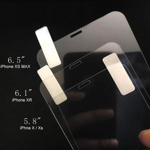 Image 3 - 10pcs נייד טלפון מזג זכוכית מסך מגן 9H 2.5D סרט תצוגה עבור iPhone 11 פרו מקסימום X XR xs מקסימום 7 8 בתוספת 8 בתוספת זכוכית